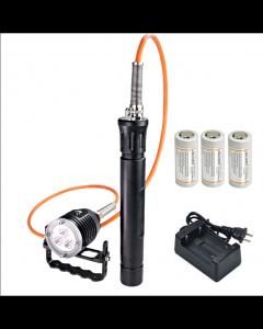 ARCHON DH30 II & WH36 II 3 * CREE XM-L2 U2 3-režimy 3600-Lumes 0m LED kanister potápanie svetlo